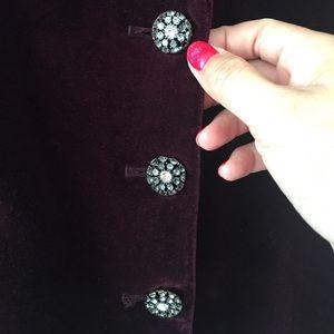 Michael Kors Jackets & Coats - Michael Kors Corduroy Burgundy Blazer